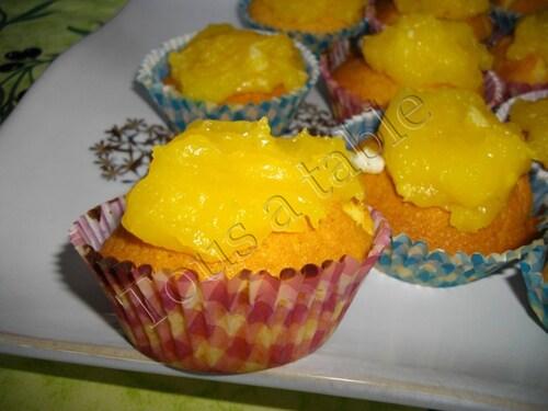 Cupcakes au limon curd