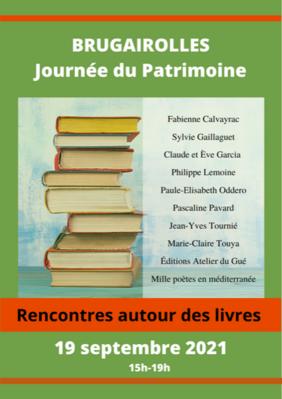 Rencontres autour des livres à Brugairolles - Aude