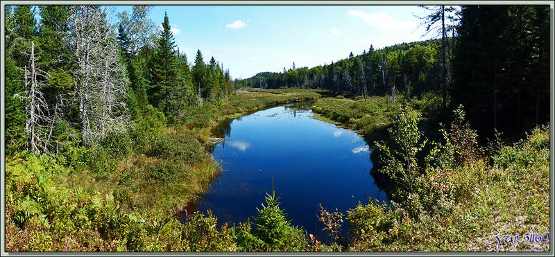Traversée du Parc National de Mauricie : Lac Boyer - Québec - Canada