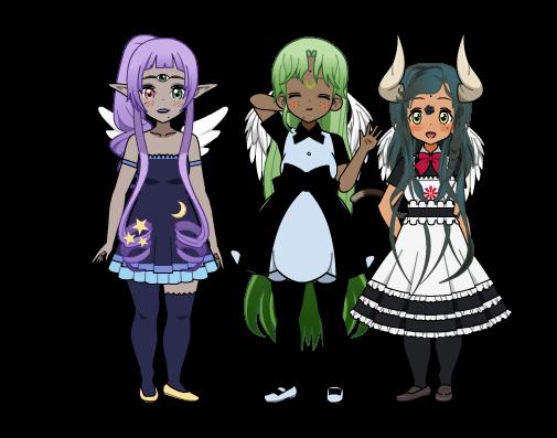 Les déesses en robe