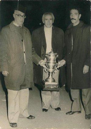 Derriche, Tafat, Kadri coupe du Maghreb 1974