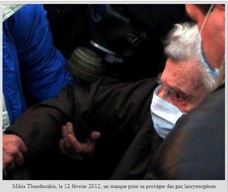 Mikis Theodorakis : « Je veux les regarder dans les yeux avant qu'ils votent »