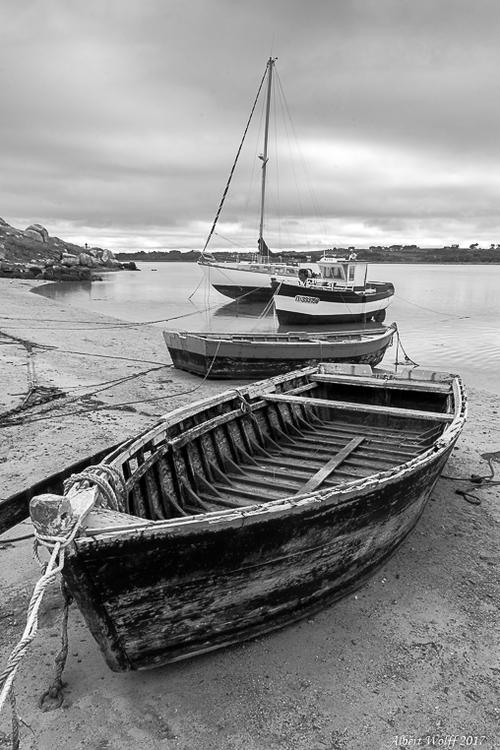 BZH 2017 - Des bateaux en  grève...