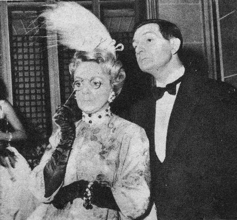 La comtesse Polaki/Denise Gence et Antoine /Jacques Charon au second acte