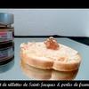 Toast de Saint-Jacques & perles de framboise