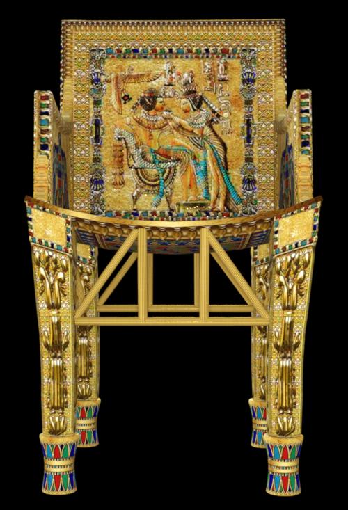Tube décoration Egypte antique (image)