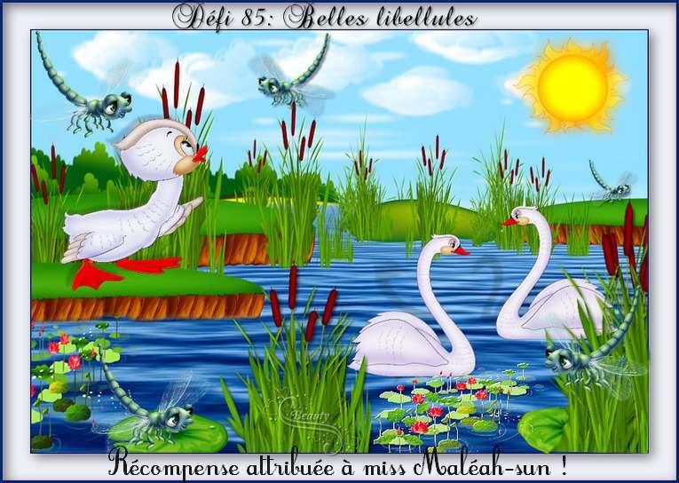 """Défi """"Belles libellules"""" , vos récompenses ICI mes zamours*"""