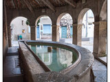 Fontaine au dauphin