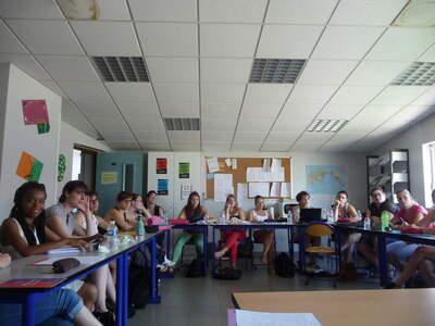 Rencontre avec une classe de BTS à Grenoble