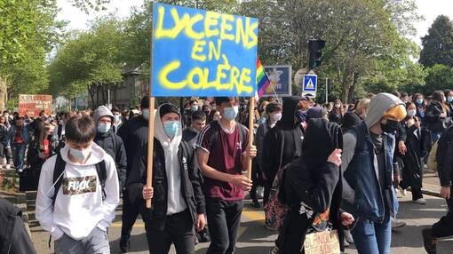 Brest. Les lycéens de l'UNL appellent à la mobilisation, ce vendredi ( OF.fr - 20/05/2021-18h47 )