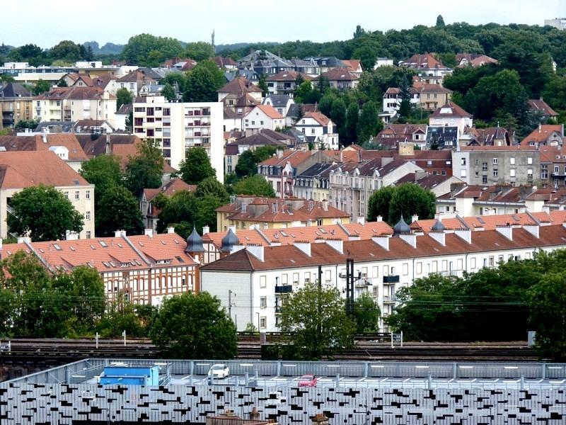 Les photos de Metz de Bernard / Au dessus d'Outre-Seille...