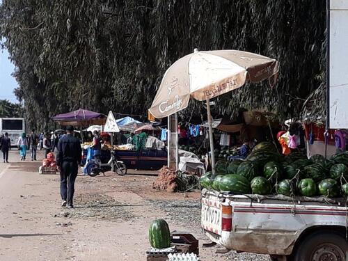 Vendeur de pastèque