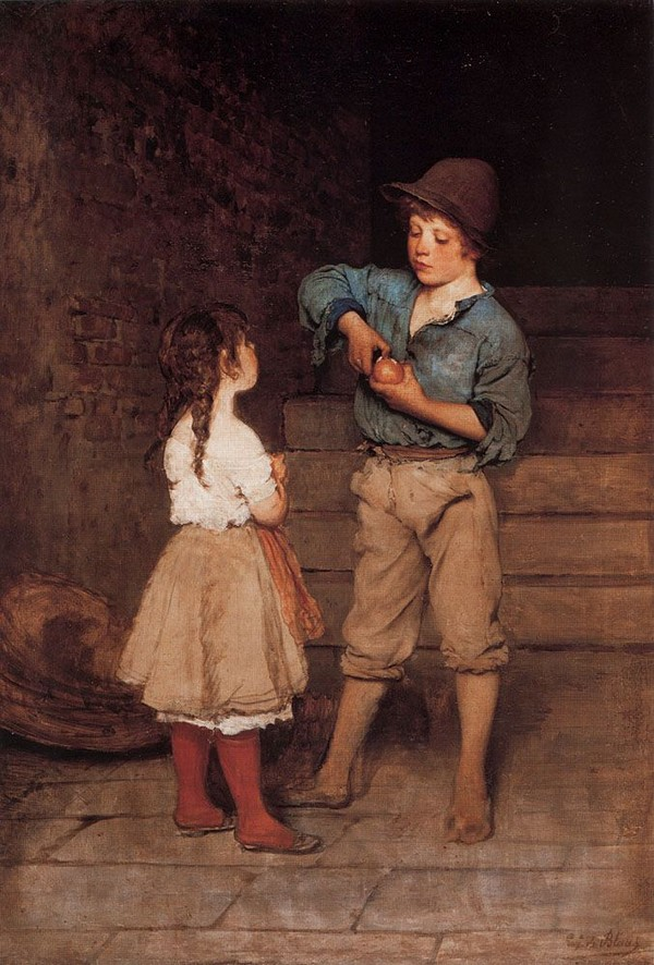 Peinture de : Eugène de Blaas