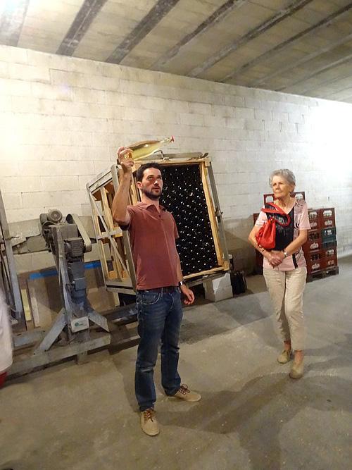 Visite du domaine viticole Bouhélier