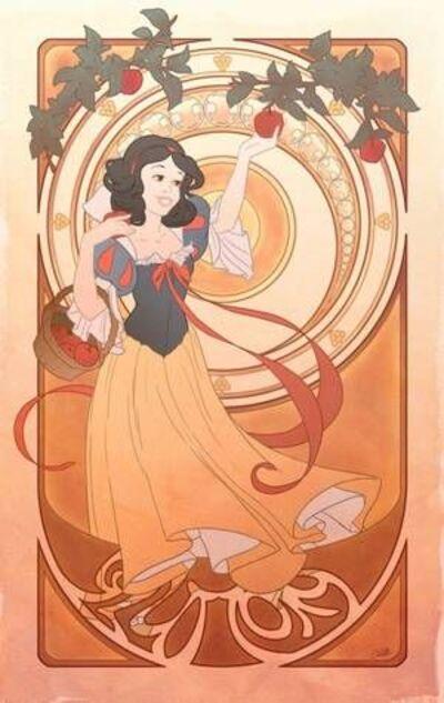 Art nouveau Disney