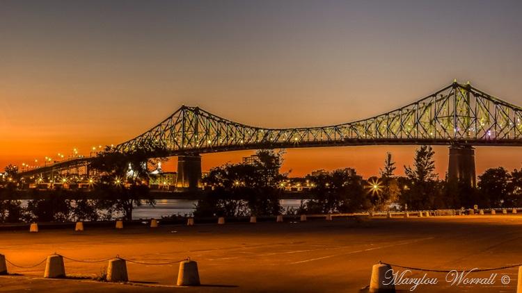 Montréal : Coucher de soleil