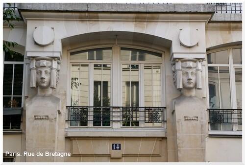 Flaner à Paris. 3ème arrondissement.