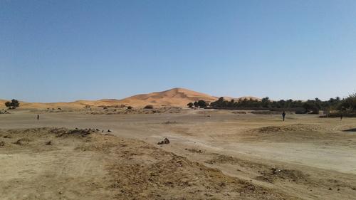 les premières dunes