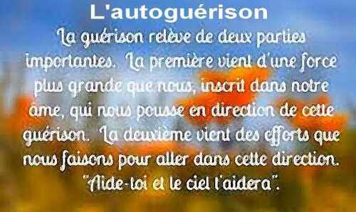 Images : L'Autoguérison 9