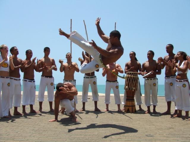 La capoeira au primaire