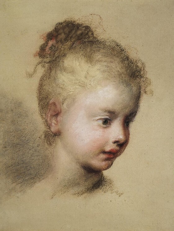 Head of a Child in Profile