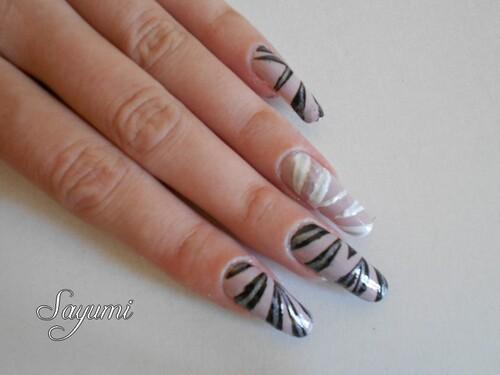 Nail Art Graphique