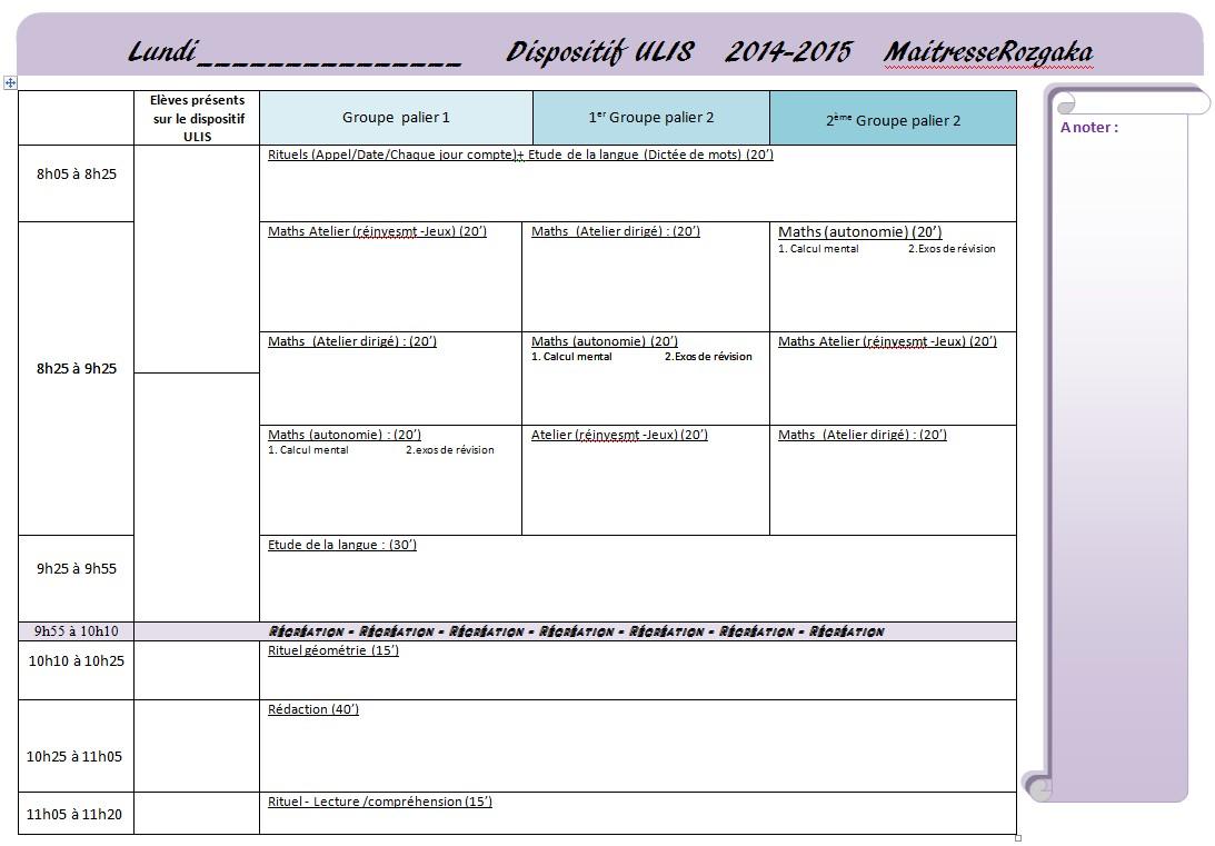 Assez Cahier journal 2014 2015 - Maitresse Rozgaka HC84
