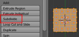 Subdiviser l'objet pour obtenir plus de vertices