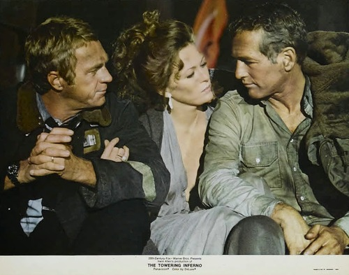 LA TOUR INFERNALE - PAUL NEWMAN BOX OFFICE 1975