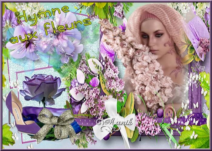défi de la semaine pour Marjolaine Hymne aux fleurs