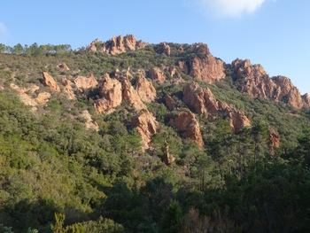 Pendant la montée, la face Sud du Mont Saint-Martin