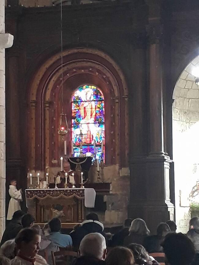 Messe du 25 février 2018, 2ème dimanche de carême