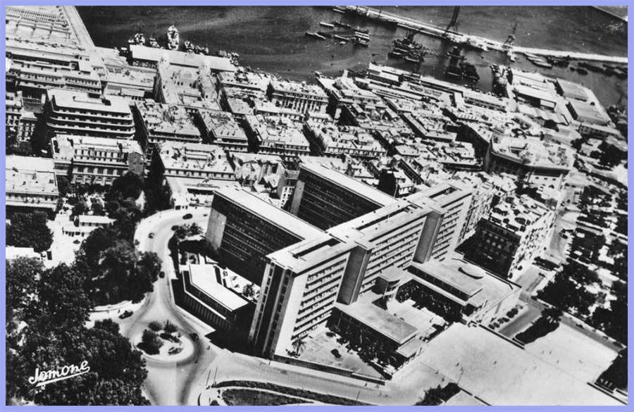 Alger - Batiment du Gouvernement Général