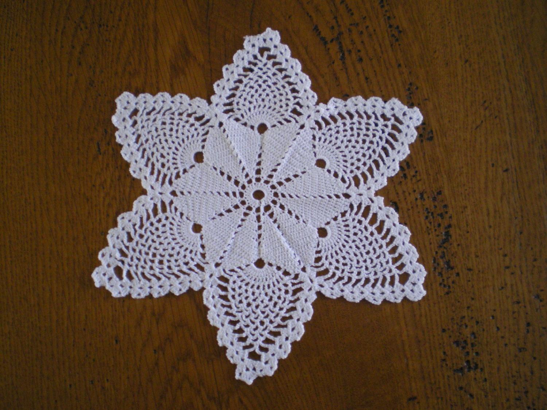 Grand Napperon Au Crochet en ce qui concerne voici des napperons - le blog de mes passions