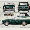Sunbeam Alpine prints Series IV 1964-65 classic car portrait