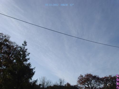 TEMPS DU JOUR  18/11/2012