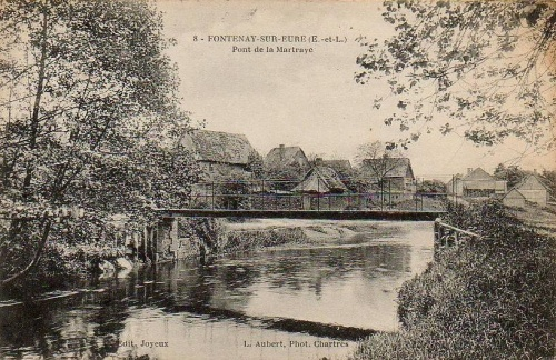 Le Pont de la Matraye (Fontenay-sur-Eure)