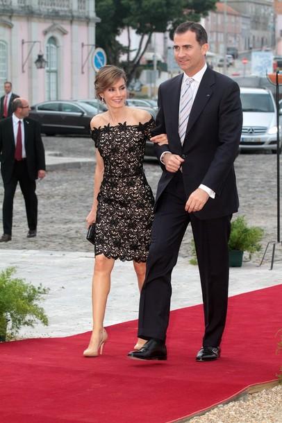 Letizia et Felipe dînent