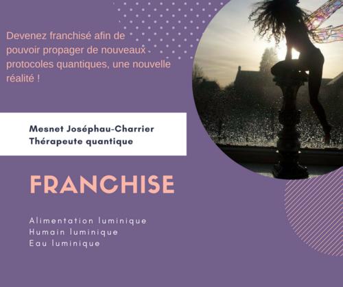 """Franchise thérapeutique """"Mesnet Joséphau-Charrier"""""""