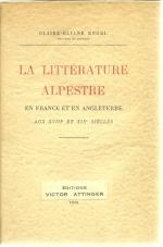 la littérature alpestre