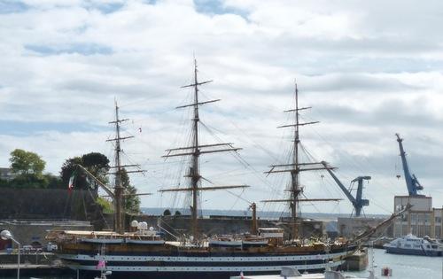 Amerigo Vespucci à Brest
