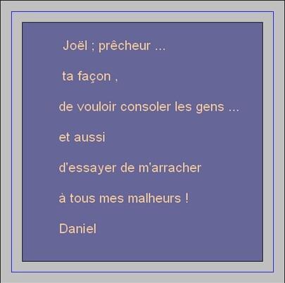 Bye bye prêcheur *