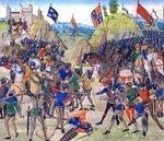 La bataille de Crécy - 26 août 1346