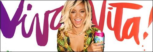 """Rihanna pour """"Vita Coco"""""""