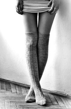 Dormir sans chaussettes?  Et puis quoi encore?
