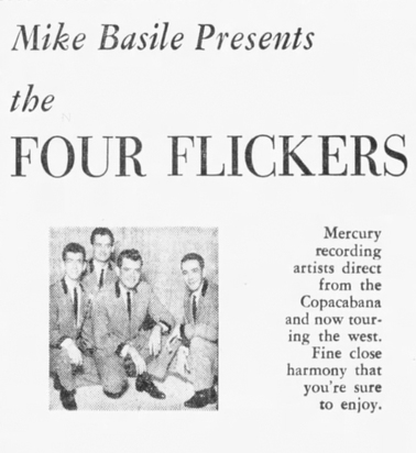 The Four Flickers aka The Four Counts (4)