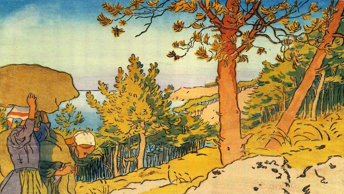 2- Loguivy    - les planches d'Henri Rivière