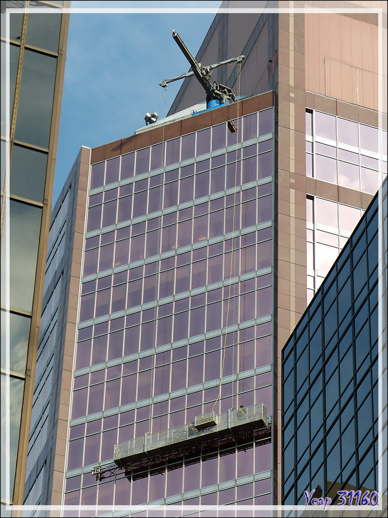 Les laveurs de vitres - Montréal - Québec - Canada