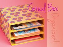 RubbishLove: Cereal Boxes, Tp Rolls Cardboard Lots Of Cardboard DIY UPCYCLE TUTS!