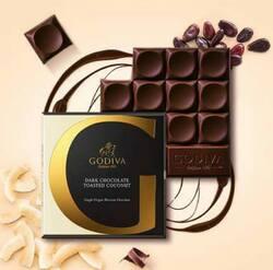 tablettes de chocolat GODIVA